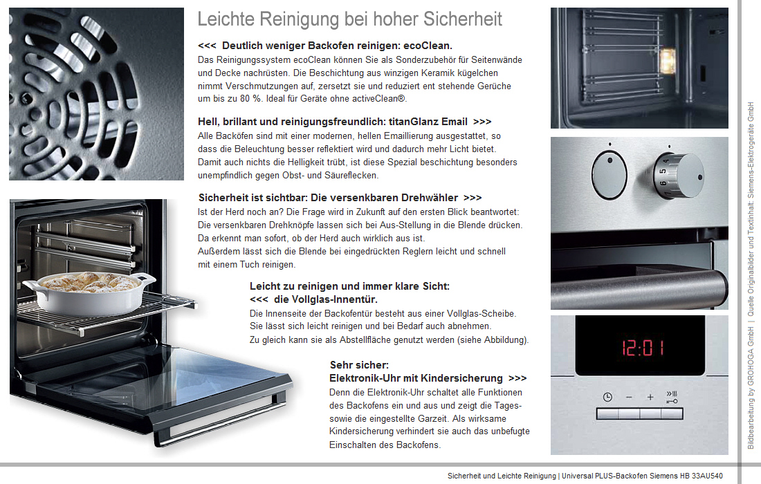 set siemens gro raum backofen 67 l kochfeld induktion. Black Bedroom Furniture Sets. Home Design Ideas