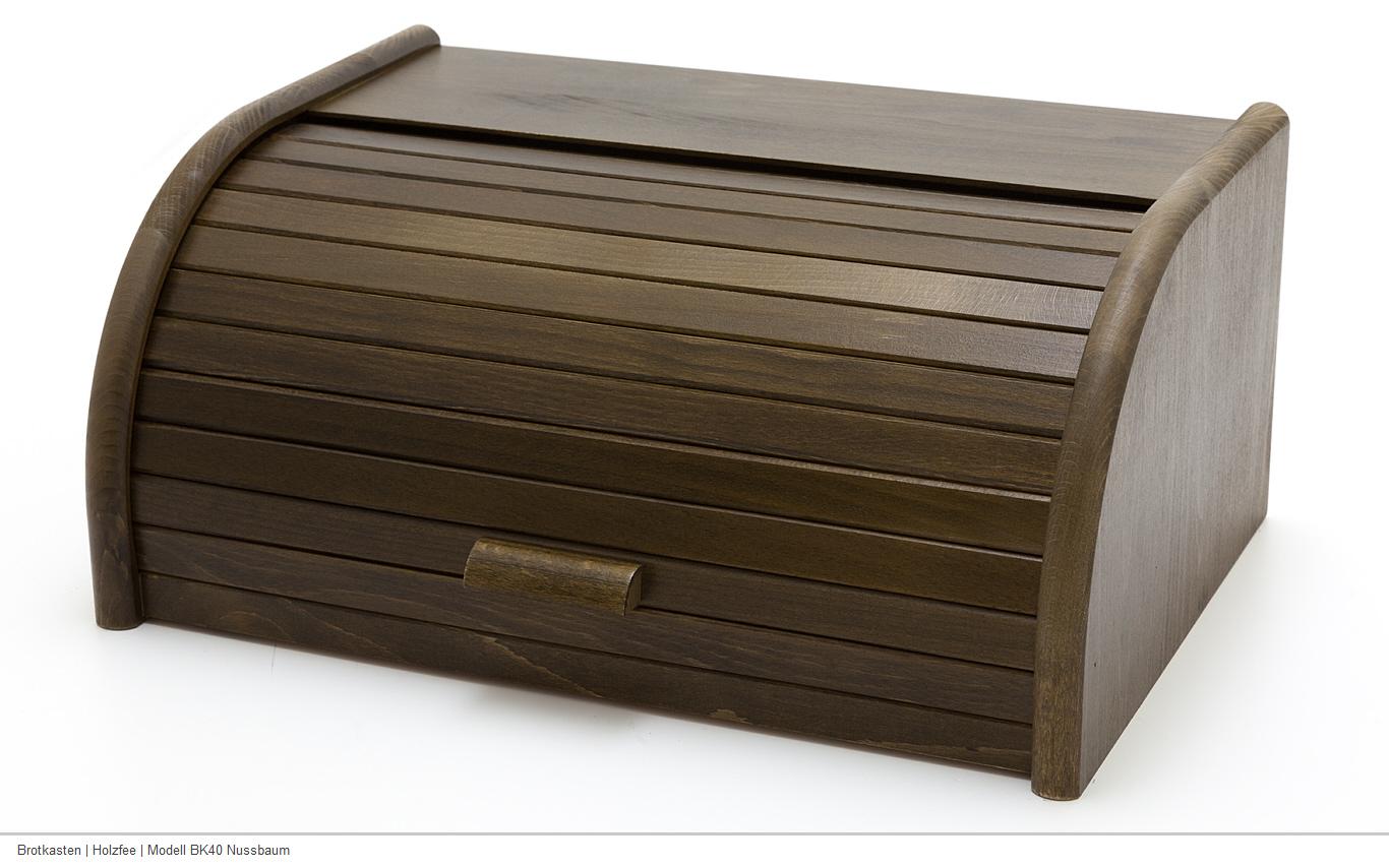 holzfee bk 40 rattan brotkasten holz rattan klappt r brotbox brot aufbewahrung ebay. Black Bedroom Furniture Sets. Home Design Ideas