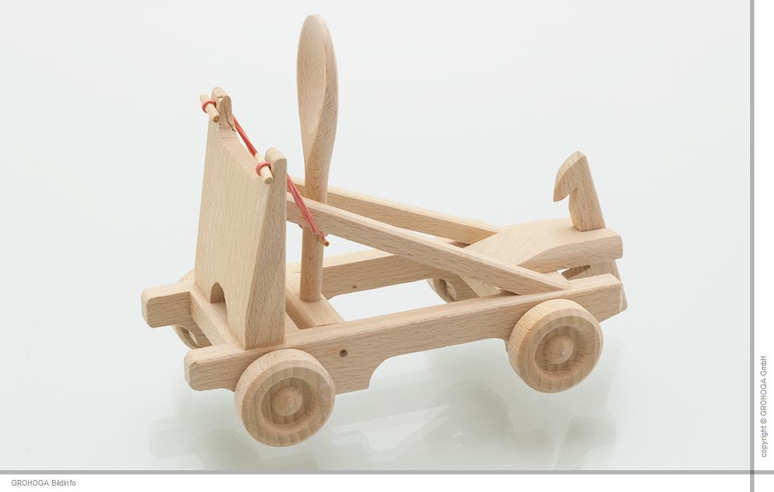 holzfee katapult holzspielzeug naturholz spielzeug mittelalter steinschleuder ebay. Black Bedroom Furniture Sets. Home Design Ideas