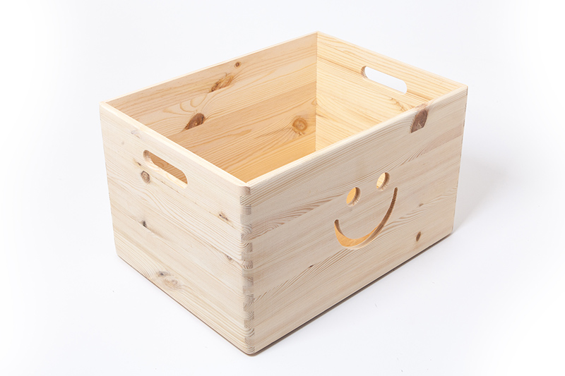 holzfee aufbewahrungsbox holz stapelbox holzbox kiefer natur holzkiste ebay. Black Bedroom Furniture Sets. Home Design Ideas