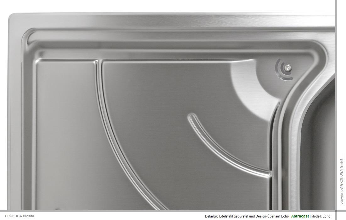 Astracast Echo 1.5 R + DP Pack Spüle Edelstahl Einbau Küchenspüle ...