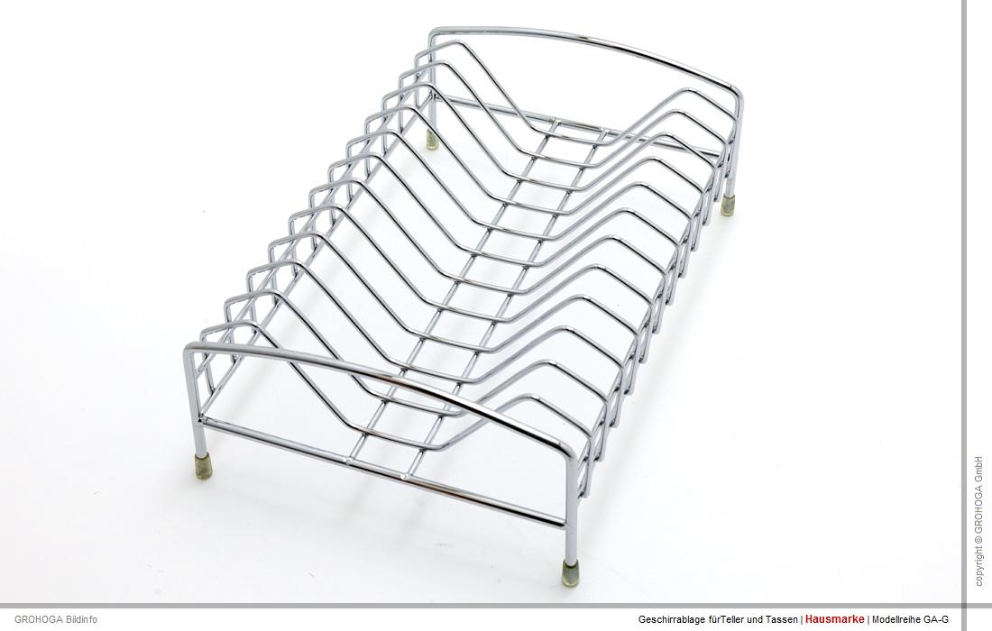 gag 12 geschirrablage tellertassen geschirr gestell abtropf ablage f r sp le ebay. Black Bedroom Furniture Sets. Home Design Ideas